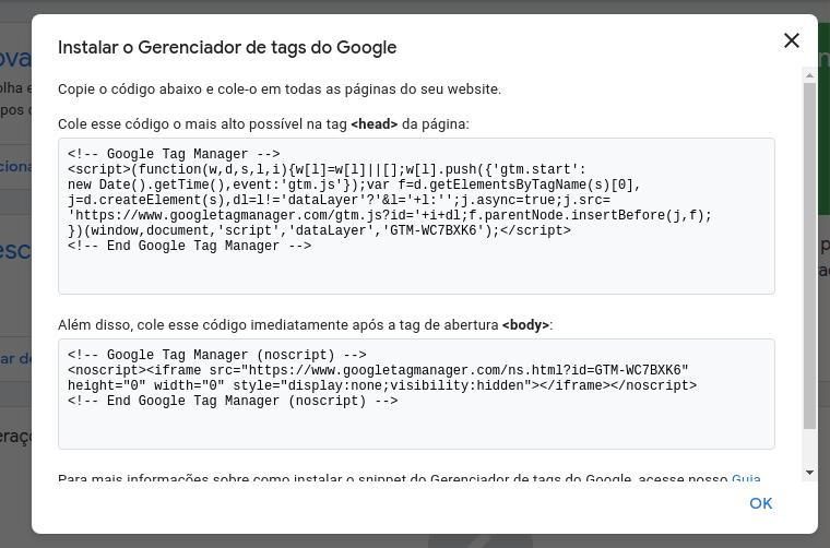 Tag HTML via GTM
