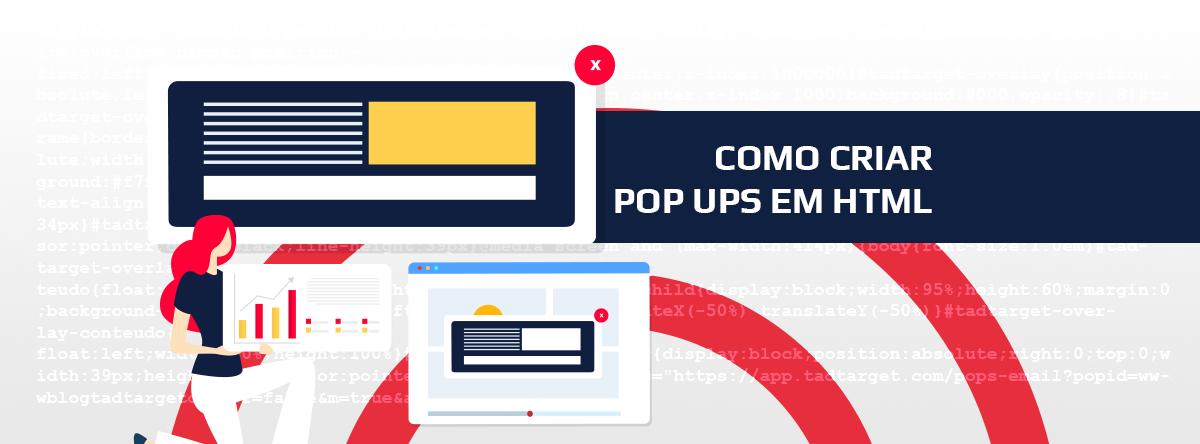 Como criar pop ups em HTML