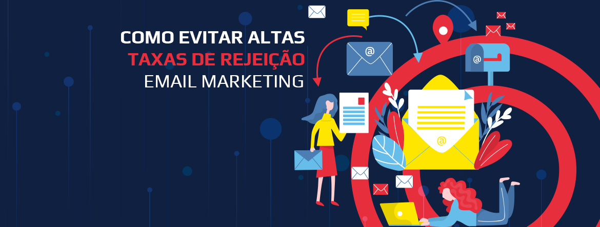 Taxa de rejeição Email Marketing