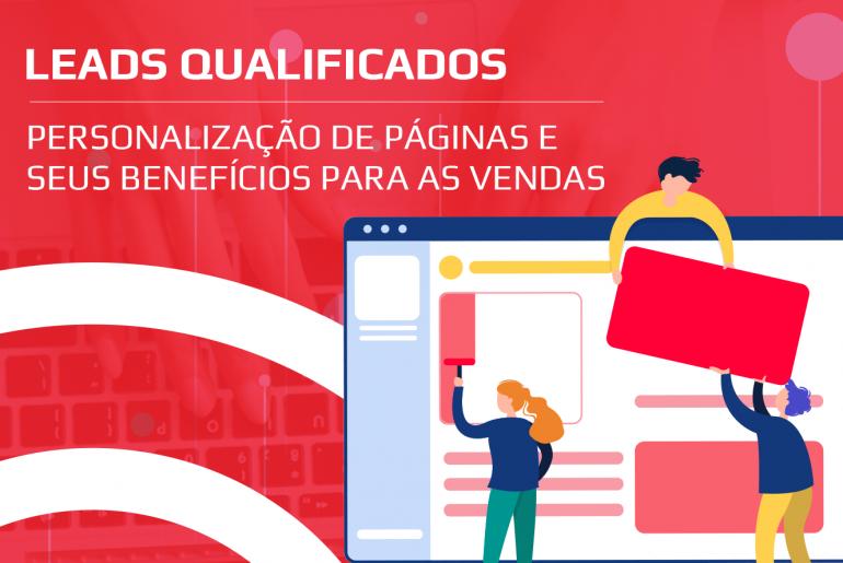 Leads Qualificados e Personalização de Páginas