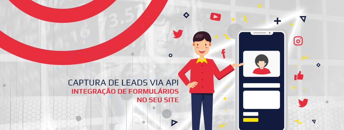Captura de leads via API