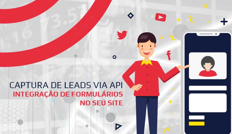 Captura de leads via API