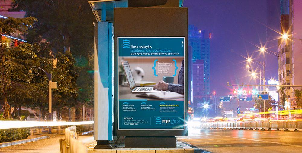 Posicionamento de Mercado, Propaganda no Ponto de ônibus